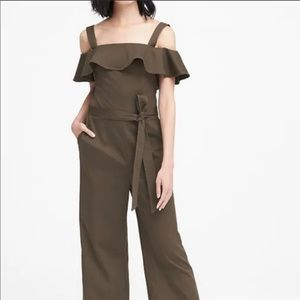 New with Tags! Banana Republic Twill Jumpsuit
